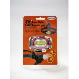 Φακός κεφαλής με τεχνολογία COB LED 3W ισχυρής φωτεινότητας